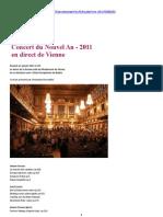 Concert Du Nouvel an 2011 en Direct de Vienne (FM 01.01.2011) (128kbps) (+mp3)