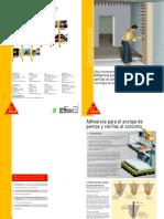 Adhesivos Anclaje de Pernos y Varillas%SikasInformaciones Tecnicas.pdf