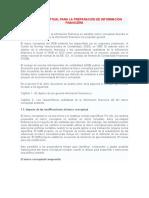 MARCO CONCEPTUAL PARA LA PREPARACIÓN DE INFORMACIÓN FINANCIERA