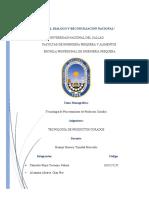 Monografia de tecnologia de productos curados (1)