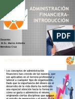 Administración Financiera-Introducción