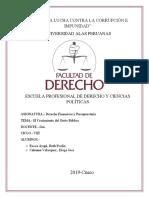 DERECHO FINANCIERO Y PRESUPUESTARIO MONOGRAFIA
