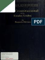 Vida Constitucional de los Estados Unidos - Benjamin Harrison