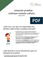 Información pruebas externas reunión cultura.pptx