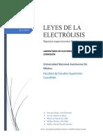Reporte 1 Electroquímica y Corrosión