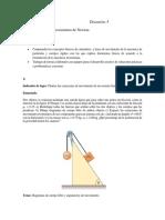 Discusión 4 Aplicaciones Leyes de Newton