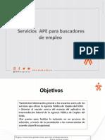 1  TALLER SERVICIOS APE  E INDUCCION AL APLICATIVO BUSCADORES DE EMPLEO.pptx