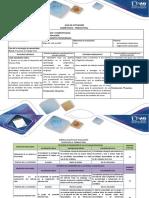 Guía de actividades y rubrica de evaluación - Unidad 3 - Paso 6 - Presentar trabajo final