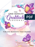 The One-Minute Gratitude Journal  For the Moments That Matter  A 52 Week Guide to a Happier, More Fulfilled Life  Gratitude Journal.pdf