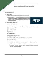 4.0MEMORIA DESCRIPTIVA SANITARIAS - SEDAPAL docx