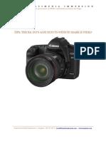 Canon 5D Mark II Tip Sheet_Stephenson