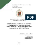 Diseño y evaluacion de un metodo para remover impurezas desde soluciones de lixiviacion, mediante sobresaturacion sulfurica.pdf