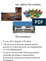 Govt and Governance