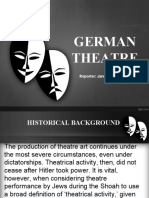 GERMAN THEATRE