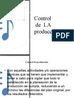 Control de La Produccion