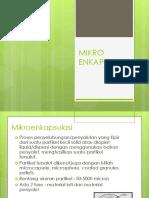 Mikroenkapsulasi