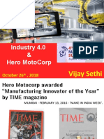 Industry 4.0 & Hero MotoCorp