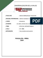 PC 01 - ETICA