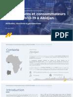 LOOKA  Étude COVID-19 à Abidjan - PDWA (KAS)- 25 Mai 2020 (FR)