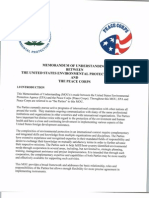 Peace Corps EPA Memorandum of Understanding