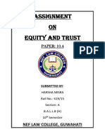 History and definition of Equity. Difference between Equity Law and Common Law.