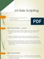 285089_Lecture Slides_Client-Side Scripting