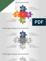 FF0056-flat-puzzle-jigsaw-powerpoint-diagram-16x9