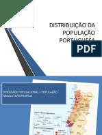 geografia 3 distribuição da população portuguesa