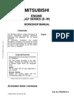 Mitsubishi-Engine-6G7-E-W-Series-Workshop-Manual
