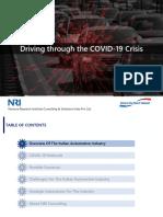 auto impact of covid