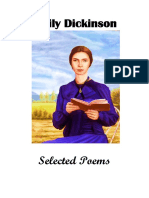 Selected Poetry - Emily Dickinson AS & AL Examination 2021