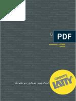 Catalogue LATTY 2017