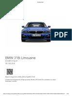 BMW 318i 2020 58k eur