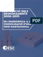 Informe Desnonaments 2008 2019