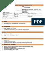 Informe TECNICO 325dl