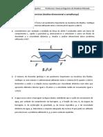 lista exercicios de analise dimensional e semelhança