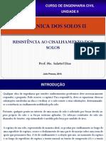 AULA 1 - RESISTÊNCIA AO CISALHAMENTO DOS SOLOS -UNIDADE II.pdf