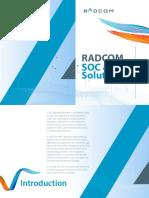 RADCOM - SOC & CEM Solution