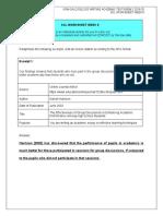 Cel 2103 - Scl Worksheet Week 8