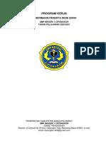Program Kerja PPDB SMPN 1 Cipongkor 2020/2021