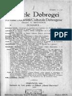 Analele Dobrogei 1931 Anul XII FASC 1-12