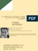 La Distinción, Pierre Bourdieu