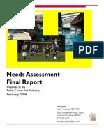 Gov Parks Needs Assessment Final