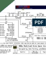 12V 500w Inverter Circuit