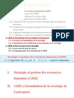 2.2- CONTRIBUTION DE LA GRH dans  FORMULATION STRATEGIE 22-10-2013 (19 diapos).pptx