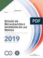 2. Cierre Fiscal ERIR año 2019 Actualizado