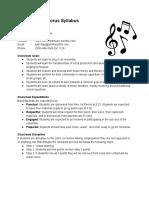 syllabus  high school chorus - google docs