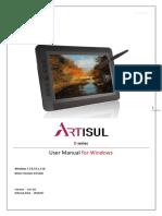 Artisul-D13 D10_Windows_Manual__Ver.3.0(20160706)_EN