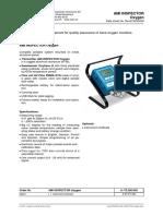 SWAN AMI Inspector Oxygen - Data Sheet