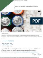 Por qué los argentinos somos los que más consumimos bebidas azucaradas en el mu